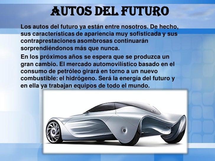 Autos del futuro Slide 2
