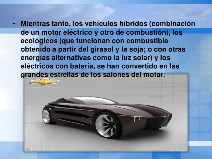 Autos del futuro Slide 3