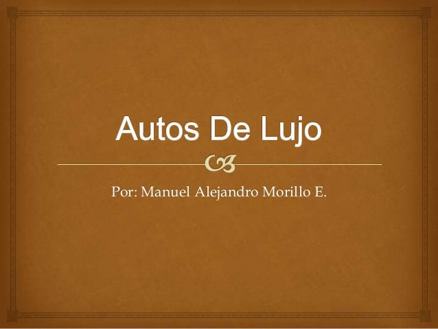 Por: Manuel Alejandro Morillo E.