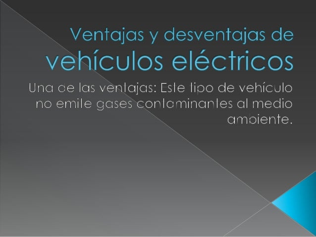 Autos eléctricos. antonio horacio stiusso