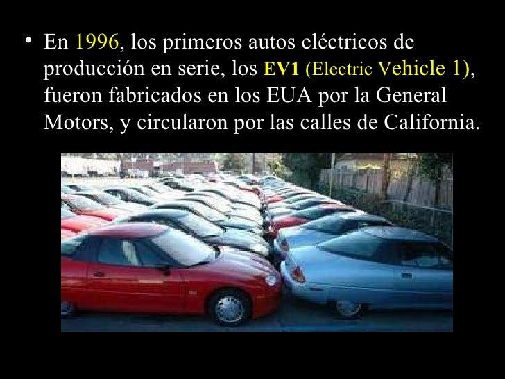 Autos electricos Slide 3