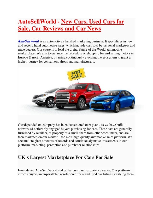 Giant Auto Sales >> Autosellworld New Cars Used Cars For Sale Car Reviews