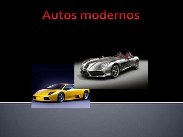 Autos modernos