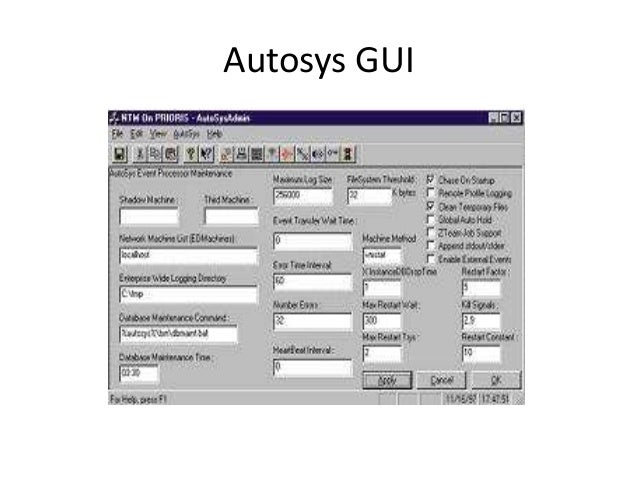 AUTOSYS JOB SCHEDULING TOOL TUTORIAL PDF