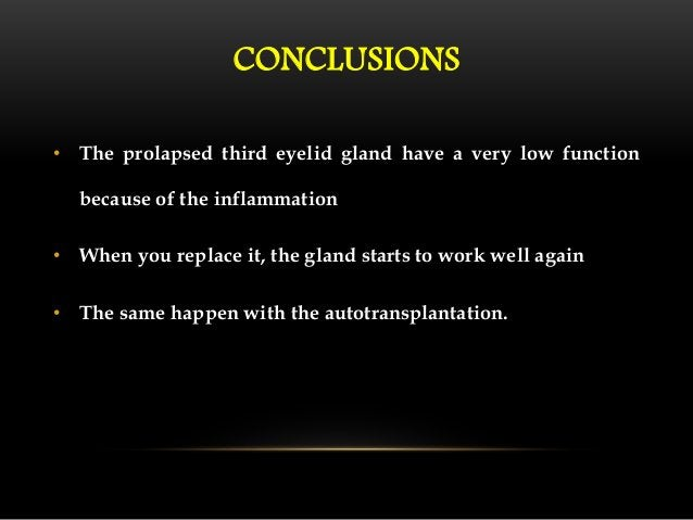CONCLUSIONS  • All patients showed clinical improvement following surgery.  • Technique is quite easy to perform.  • Appea...