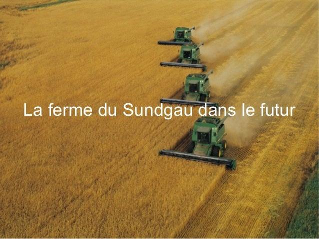 La ferme du Sundgau dans le futur