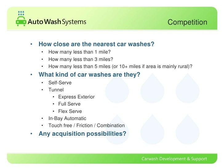 Car Wash Industry Analysis