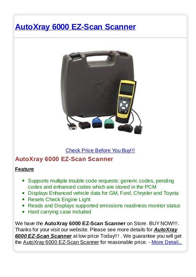 autoxray 5000 update