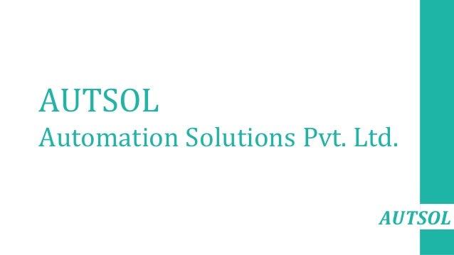 AUTSOL AUTSOL Automation Solutions Pvt. Ltd.