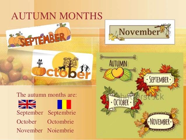 Months Of Fall Season: Autumn