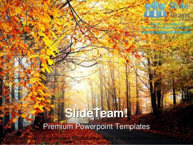 Autumn season nature power point templates themes and backgrounds ppt premium powerpoint templates toneelgroepblik Image collections