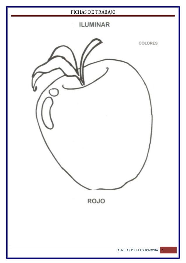 Atractivo Hojas De Trabajo De Color Preescolar Molde - Dibujos Para ...
