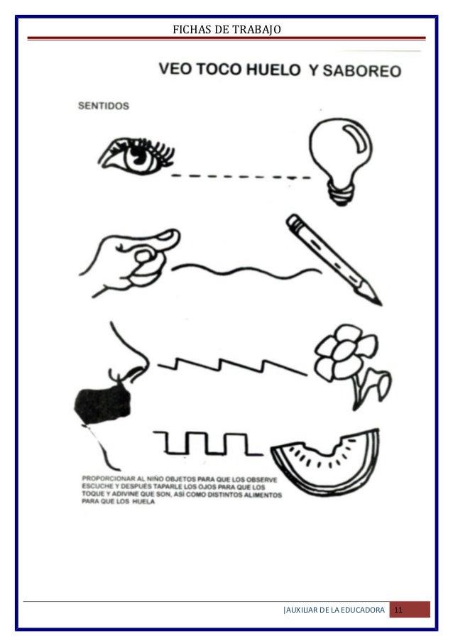 Material de trabajo para niños de preescolar