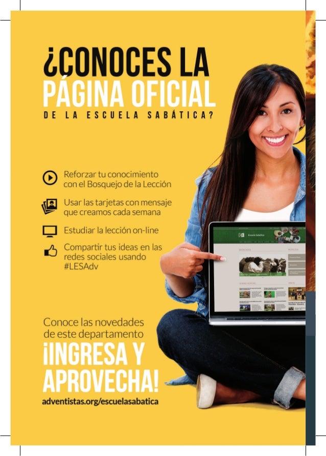 3 Sugerencias de programas para directores de Escuela Sabática Abr● Mai ● Jun 2014 04 Octubre - Diciembre 2015 JEREMÍAS