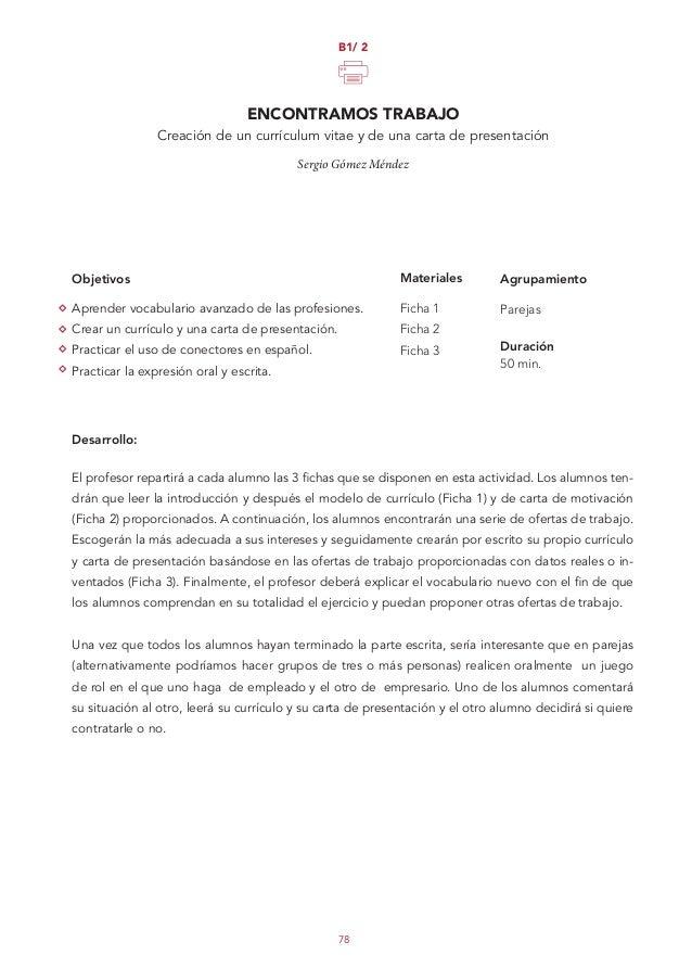 Propuestas didácticas para las clases de conversación de español 2014
