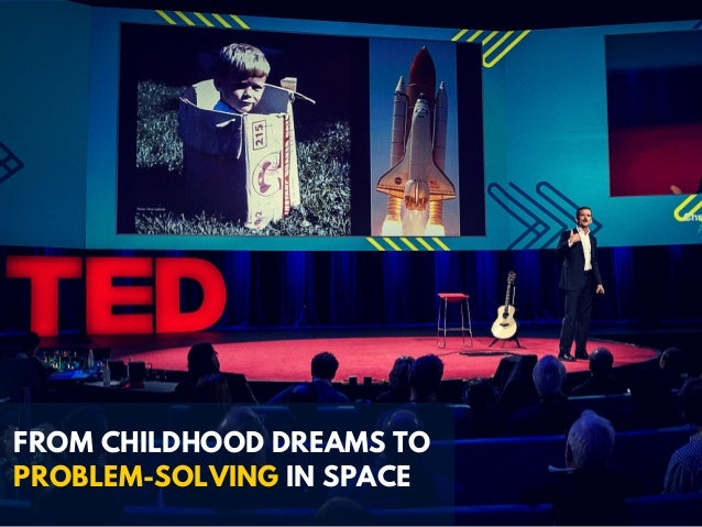 FROM CHILDHOOD DREAMS TO PROBLEM-SOLVING IN SPACE