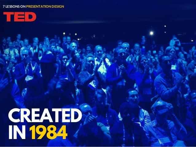 7 lessons on Presentation Design from TED TALKS | Curly Films Slide 2
