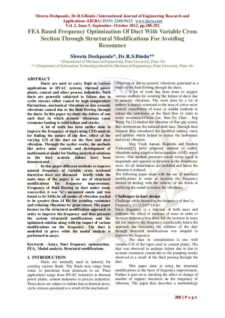 Shweta Deshpande, Dr.R.S.Bindu / International Journal of Engineering Research and                  Applications (IJERA) I...