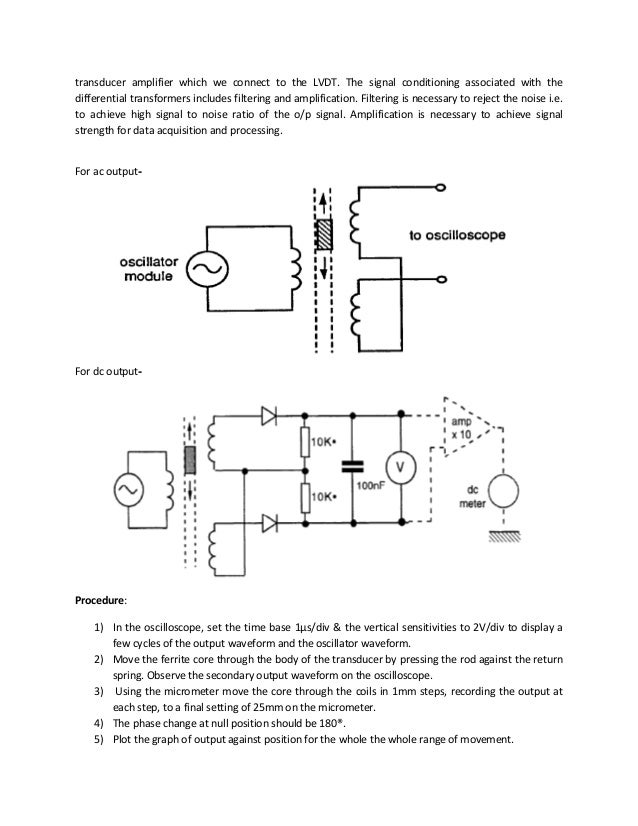 av335 instrumentation lab report 9 transducer