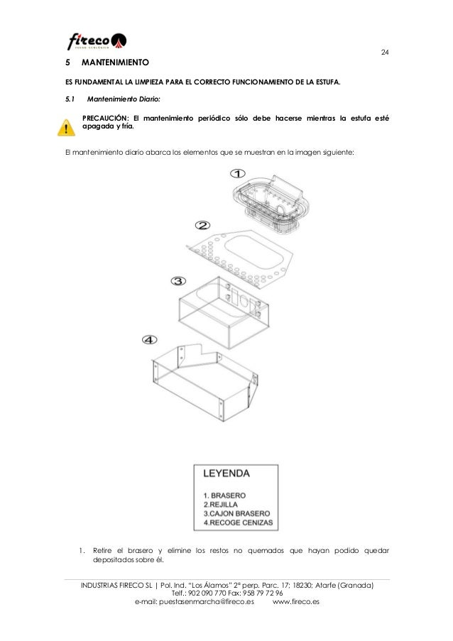 Manual de instrucciones Mikonos