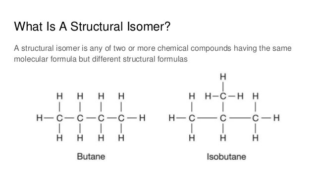 Hydrocarbon structures and isomers