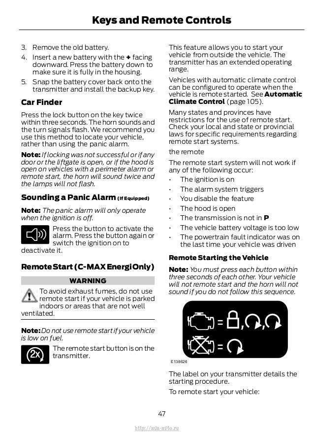 ford  max hybrid owners manual httpava avtoru
