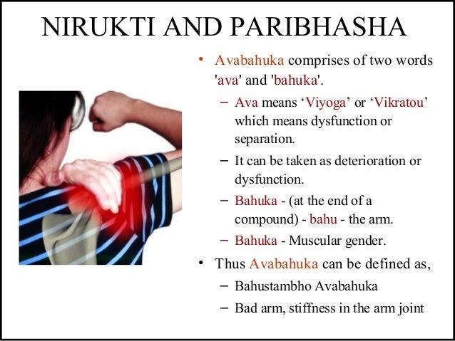 NIRUKTI AND PARIBHASHA • Avabahuka comprises of two words 'ava' and 'bahuka'. – Ava means 'Viyoga' or 'Vikratou' which mea...