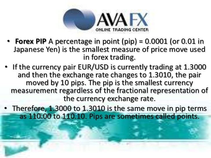 Forex pips explanation