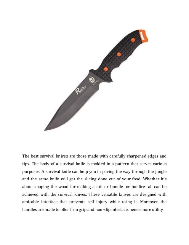 Avail Best Survival Knives from Knife Country USA