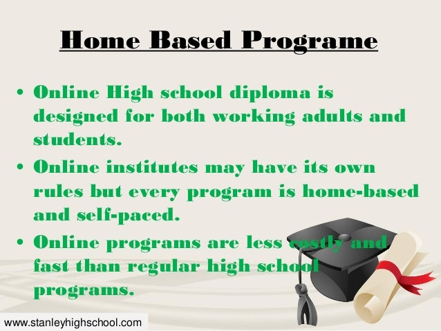 Graduate from a High Quality Online Public School