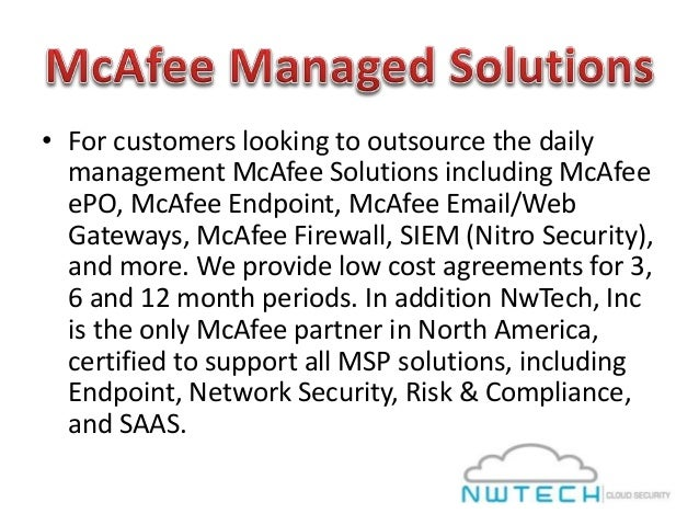 Cost Of Mcafee Epo