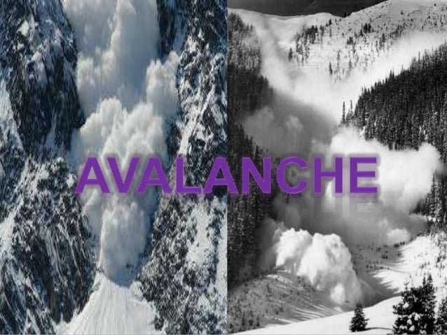 Technically, an avalanche is any amount of snow sliding down a mountainside. It can be compared to a landslide, only with ...