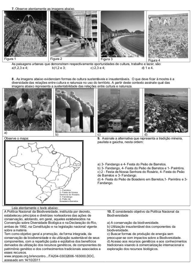 Avaliação diagnóstica geografia 7° ano.do c.do c.do c Slide 2