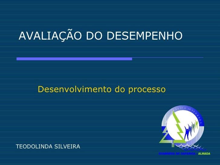 AVALIAÇÃO DO DESEMPENHO Desenvolvimento do processo TEODOLINDA SILVEIRA