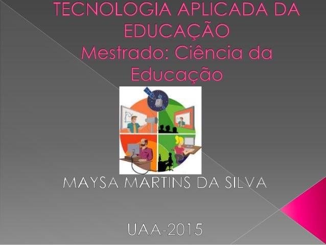  A prática docente com o uso de tecnologias digitais se constitui em grande desafio aos professores nos tempos atuais;  ...