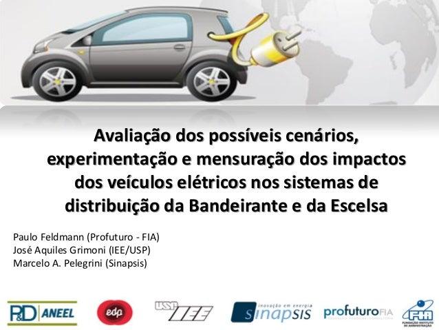Avaliação dos possíveis cenários, experimentação e mensuração dos impactos dos veículos elétricos nos sistemas de distribu...