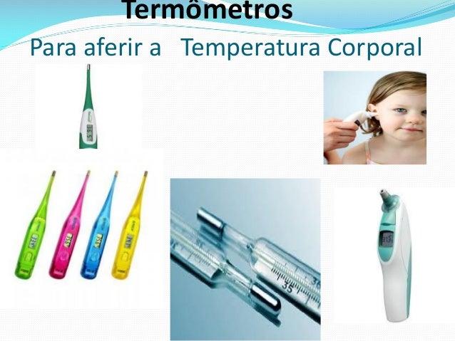 Termômetros Para aferir a Temperatura Corporal
