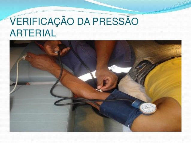 VERIFICAÇÃO DA PRESSÃO ARTERIAL
