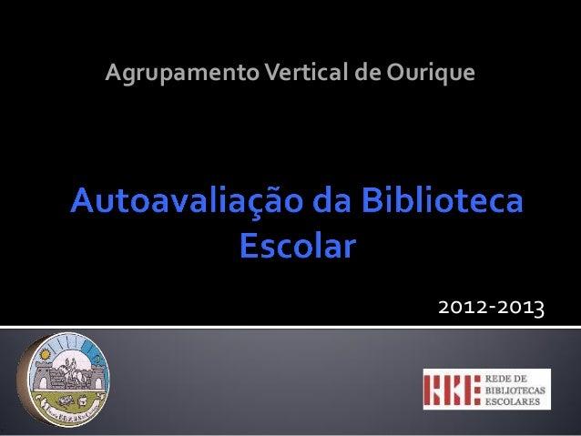 2012-2013 AgrupamentoVertical de Ourique