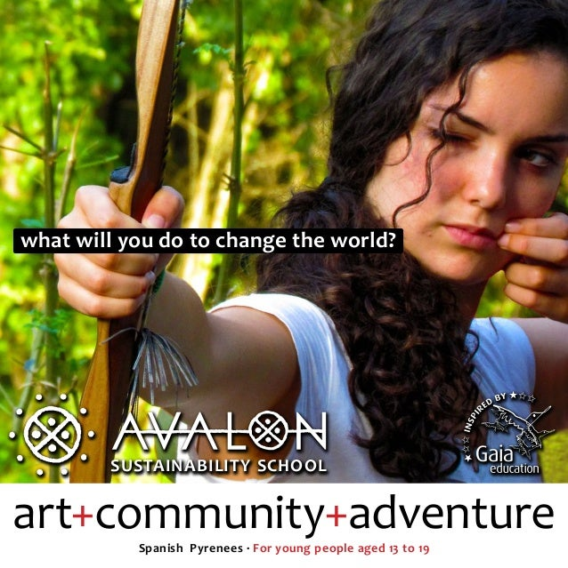 what will you do to change the world?        SUSTAINABILITY SCHOOL        SUSTAINABILITY SCHOOLart+community+adventure    ...