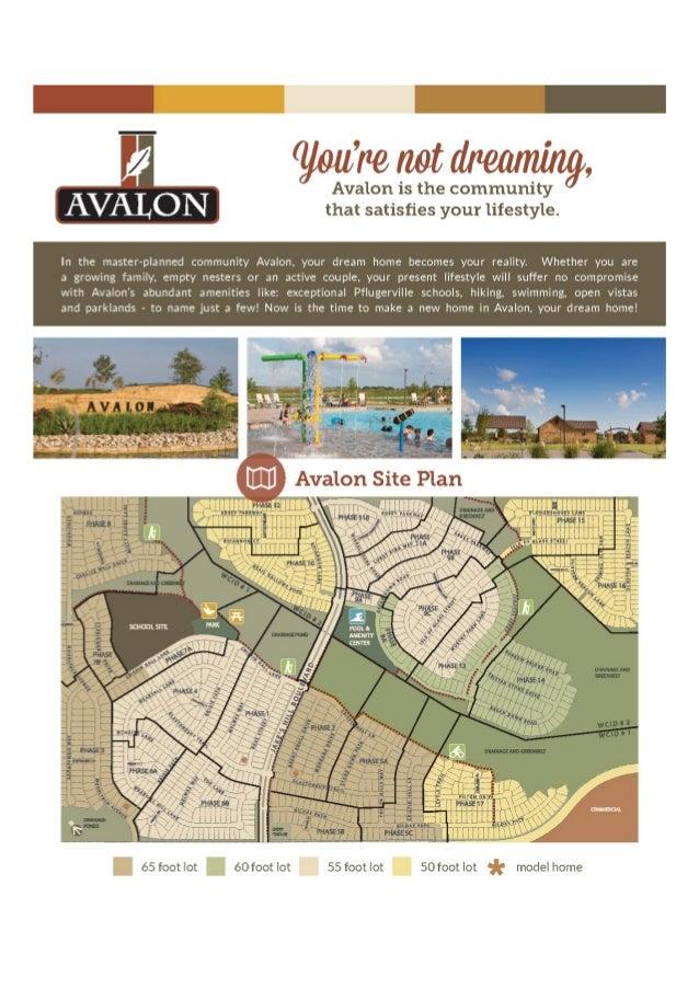 Pacesetter Homes Avalon Brochure