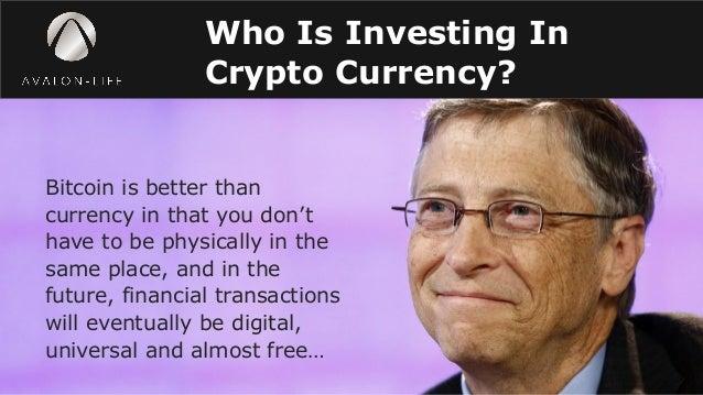 Bill gate invest on bitcoin revolution