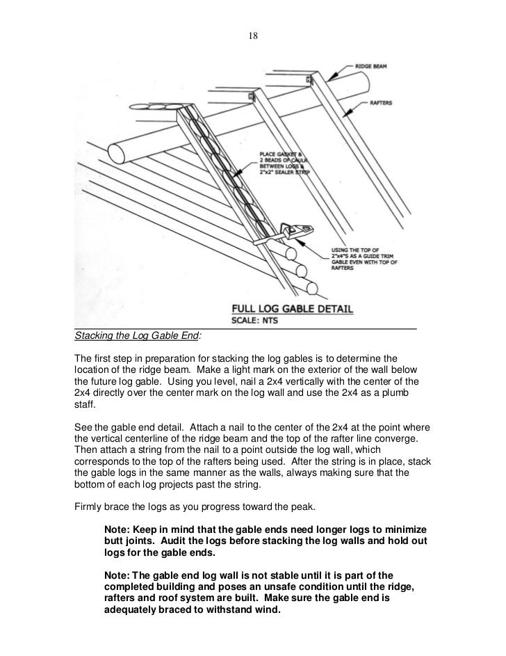 Avalon Log Homes Construction Manual 2011