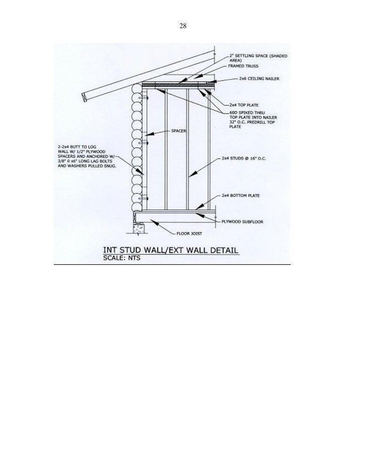 Avalon Log Homes Construction Manual 2011