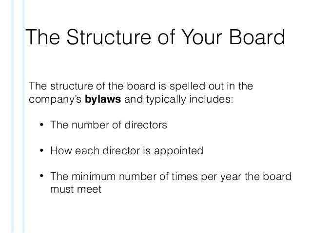 effective board of directors 589 key issues company secretary table 1: potential benefits of board evaluation3 benefits to organisation to board to individual directors leadership • sets the.