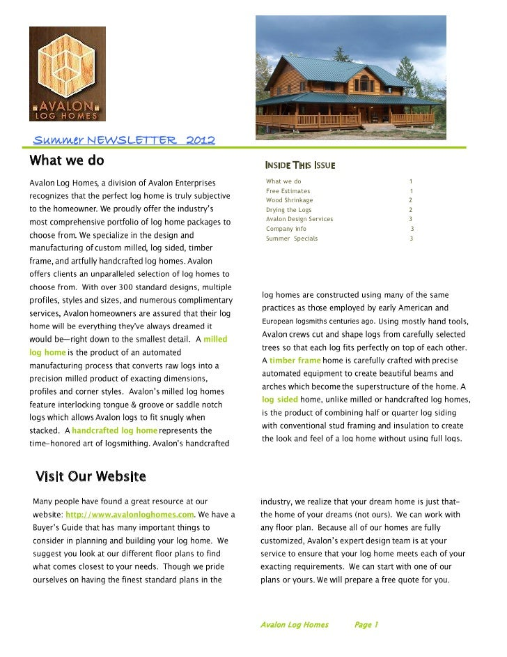 Summer NEWSLETTER 2012What we do                INSIDE THIS ISSUE                          What we do                     ...