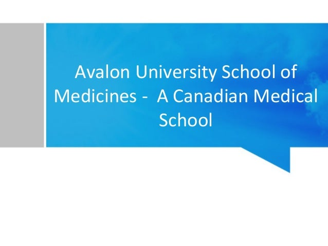 Avalon A Caribbean Medical University