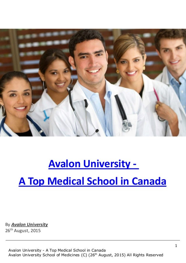 Avalon University - A Top Medical School in Canada