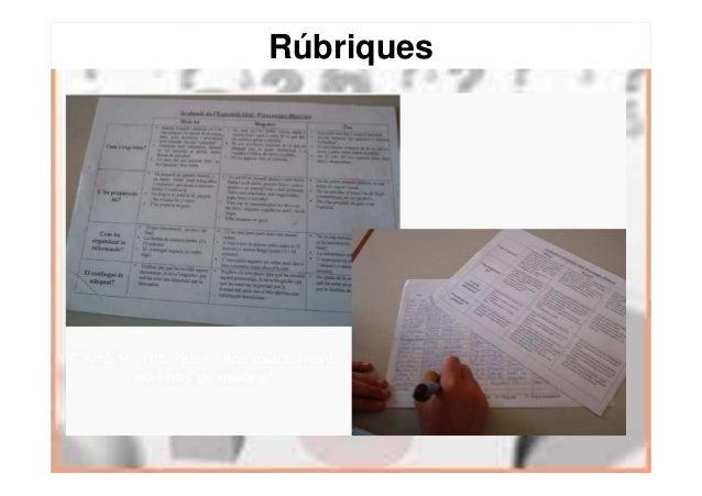 Dissenyar una gràfica d'avaluació entre els docents i l'alumnat RÚBRICA D'AVALUACIÓ DE L'EXPOSICIÓ ORAL (pot ser aplicada ...