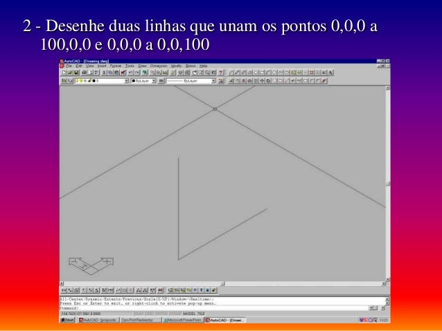 manual de autocad 14 avan ado aula 13 modelar objectos em wirefra rh pt slideshare net autocad 14 manual pdf manual autocad 14 español gratis